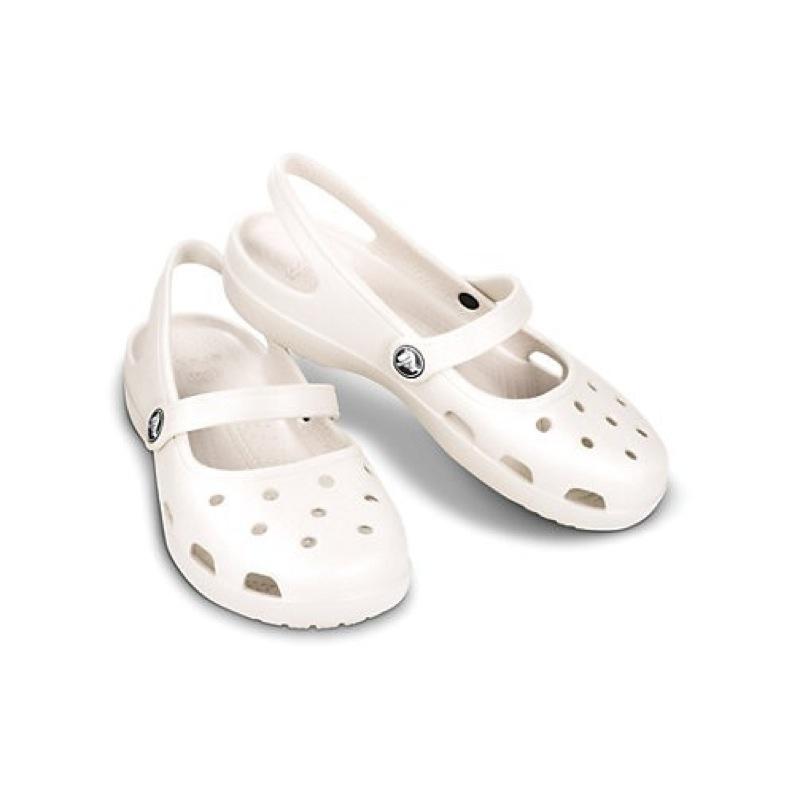 crocs weiß damen