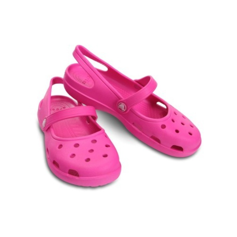 crocs shayna womens sandals original and new black white red blue brown ebay. Black Bedroom Furniture Sets. Home Design Ideas