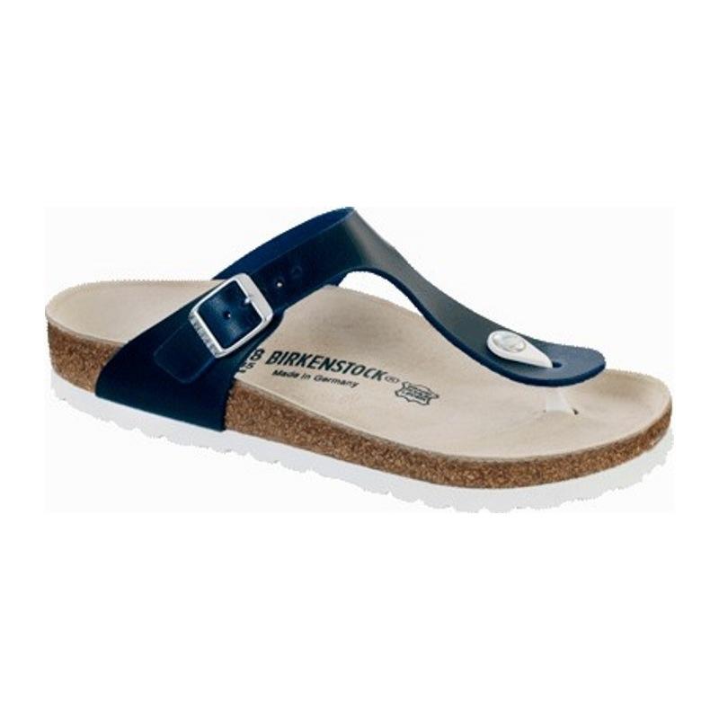 birkenstock gizeh sandale leder sondermodelle blau. Black Bedroom Furniture Sets. Home Design Ideas