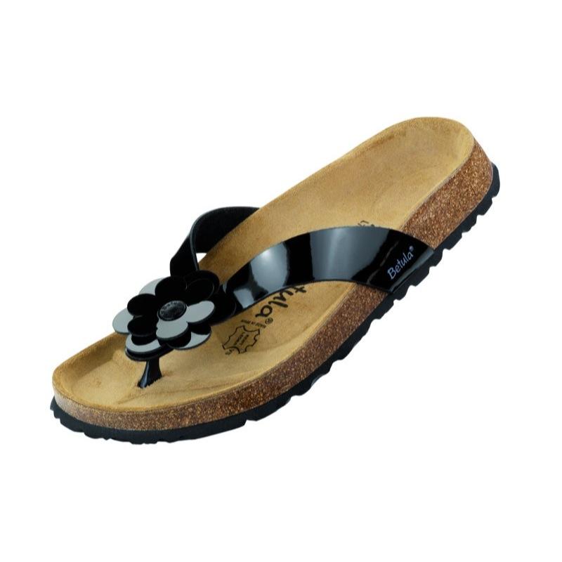 betula lene sandalen schwarz wei sand breite schmal verschiedene gr en ebay. Black Bedroom Furniture Sets. Home Design Ideas