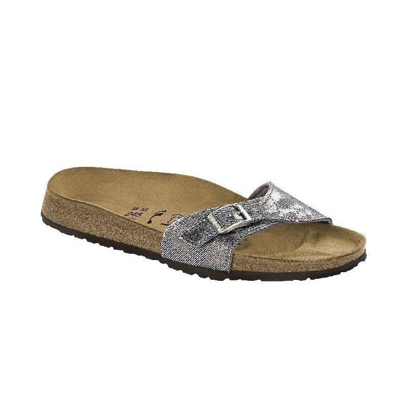 56c5cabce891 Shipping Birkenstock Bali Size 8.5 Metallic Silver