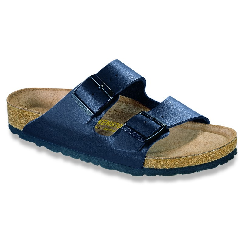 Model Birkenstock Pisa Sandals BirkoFlor Or Leather  White Blue Black Red
