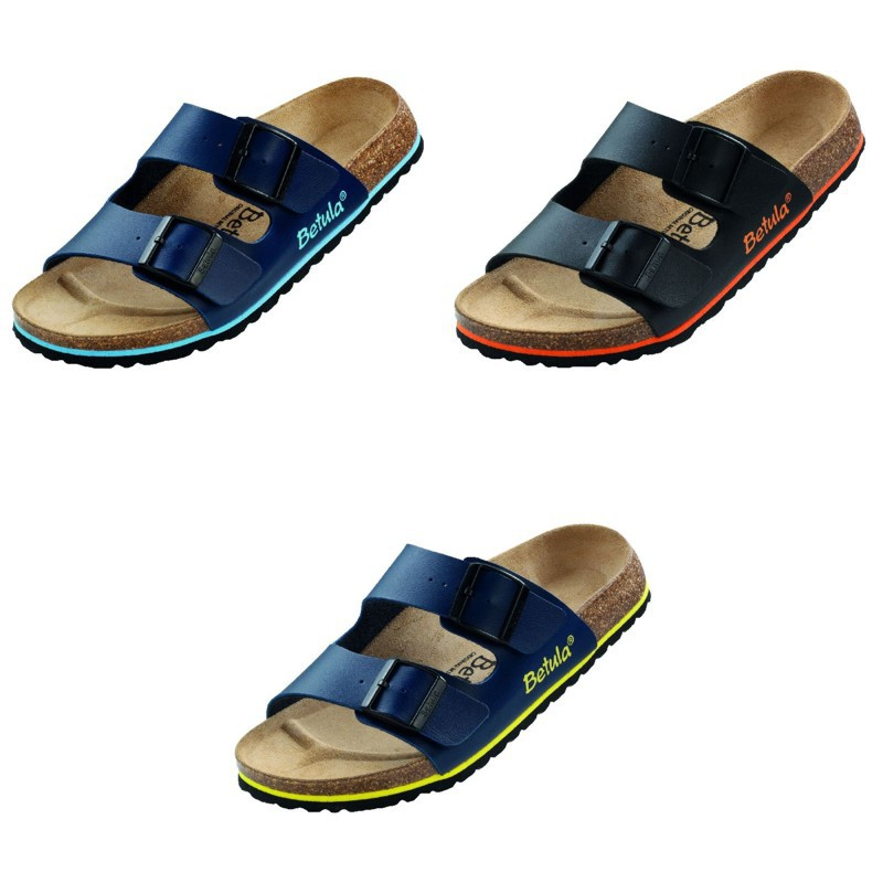 betula boogie sandals black blue sole sandwich. Black Bedroom Furniture Sets. Home Design Ideas