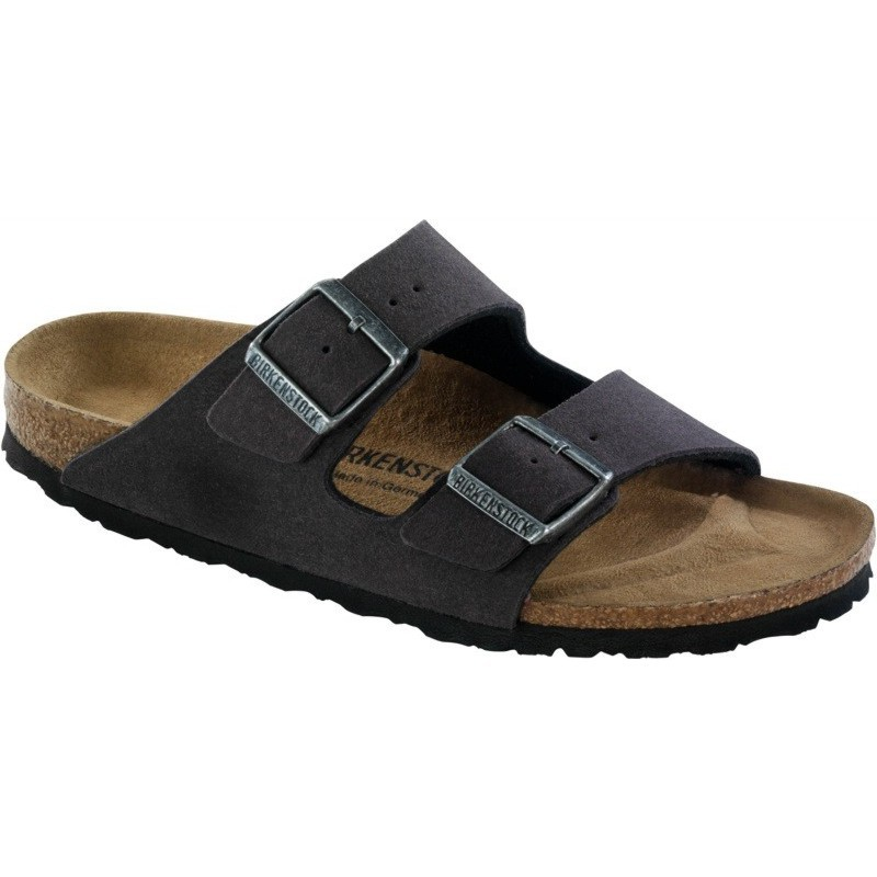 birkenstock arizona vegan sandals grey brown beige. Black Bedroom Furniture Sets. Home Design Ideas